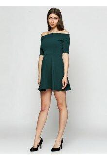 Платье (шершавая зеленая бутылка)