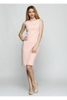 Платье (шершавая пудра+ спинка)