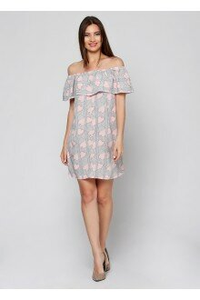Платье (штрих-персик)