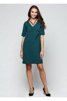 Платье чокер (зеленая бутылка)