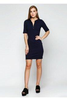 Платье (темно-синий+кольцо)